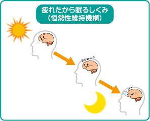 恒常性維持機構について説明した図