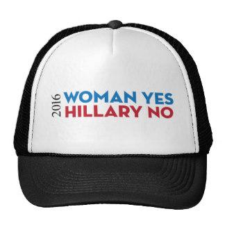 女性は良いがヒラリーは嫌だ と書かれたキャンペーングッス