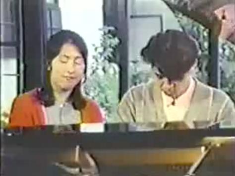 矢野顕子と坂本龍一のデユエット姿