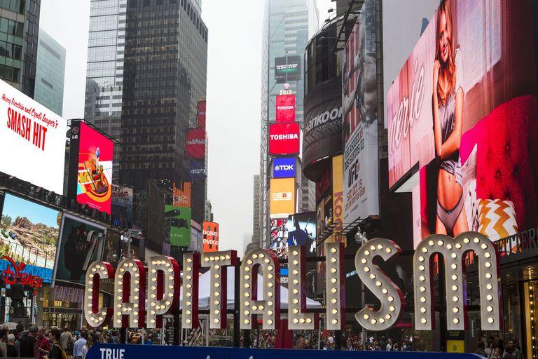 資本主義を謳歌するアメリカの人々