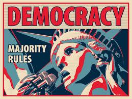 民主主義とは何かを問うポスター