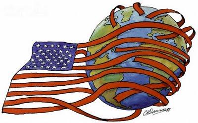 積極的な外交を行っているアメリカの姿