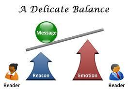 理性と情動のバランスを示す図