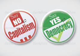 資本主義に反対し民主主義に賛成する人々