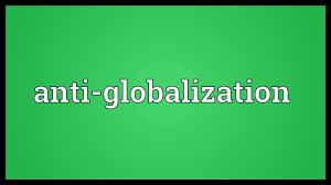 反グローバル化のポスター