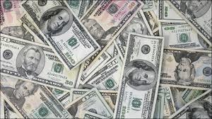 マネーを象徴するドル紙幣