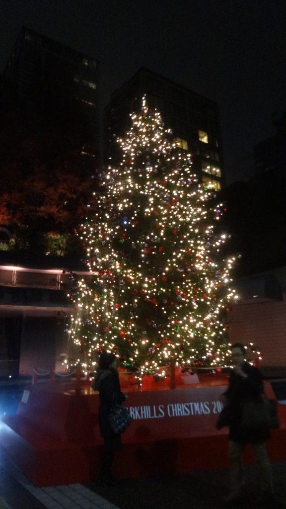 美しく輝くツリー