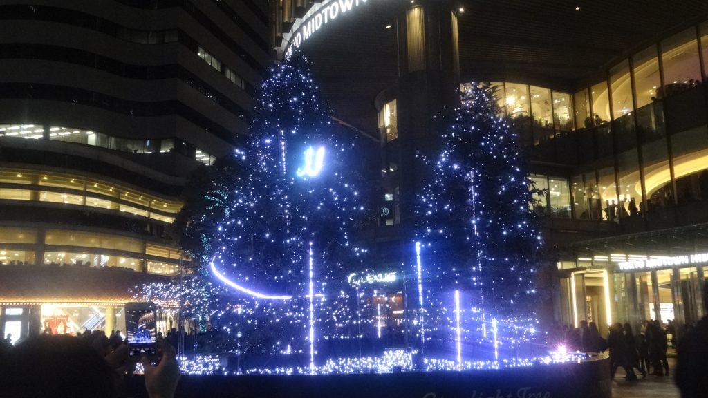 日比谷ミッドタウンのクリスマスイルミネーションの写真3