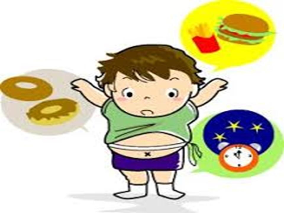 肥満児のイラスト