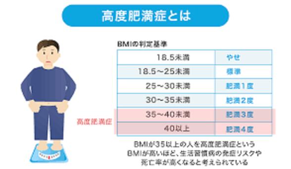 高度肥満と外科療法