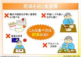 肥満を招く食生活の解説