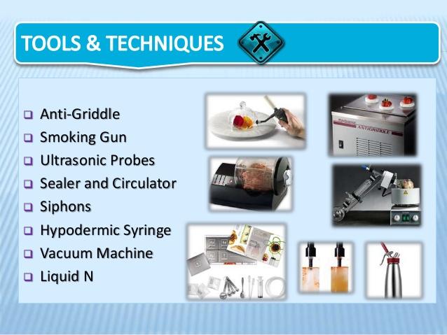 分子料理で使われる機器