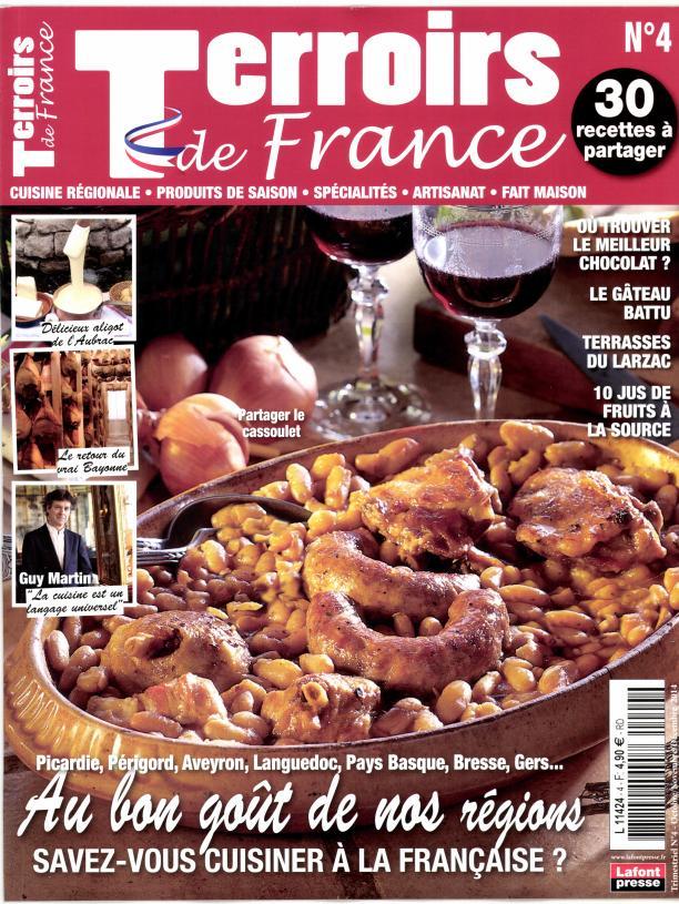 テロワリストの特集をした料理雑誌2