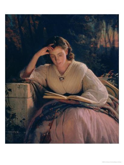読書する女性を描いた作品