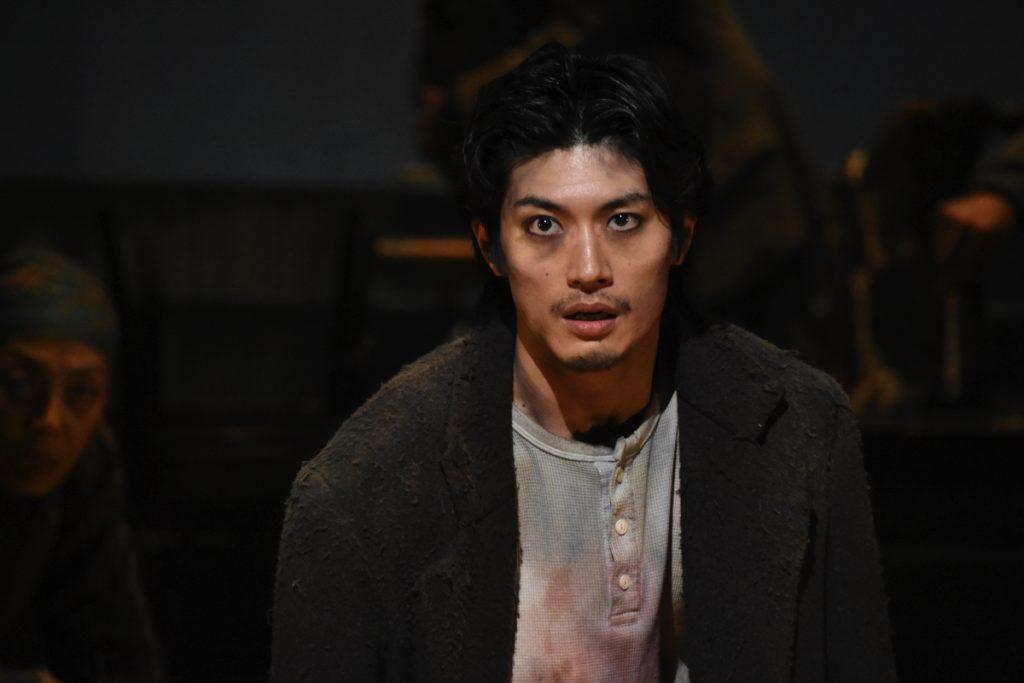 舞台の上の三浦さん