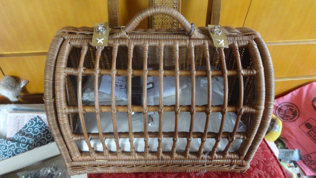 新品のネコのキャリーケース