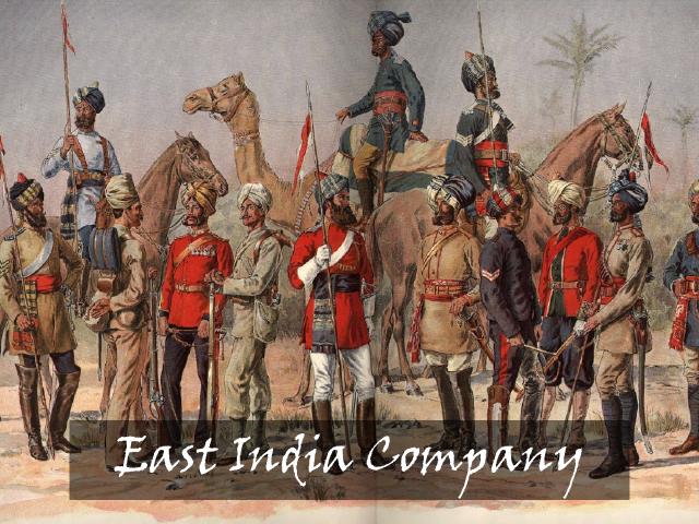 東インド会社の人々
