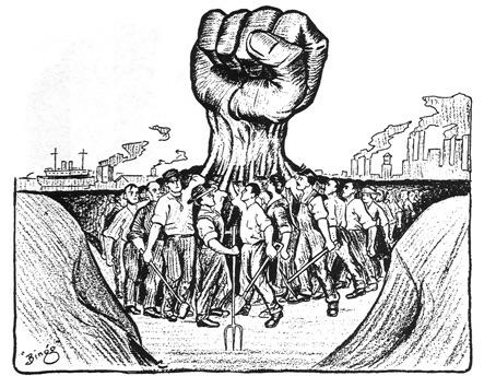 労働組合の結成