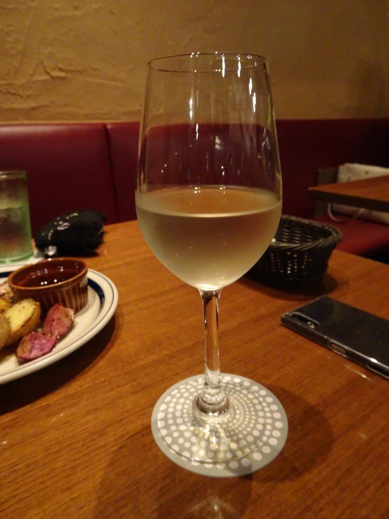 長野産の白ワイン