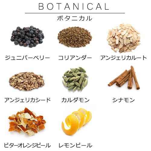 いろいろな種類のボタニカル1