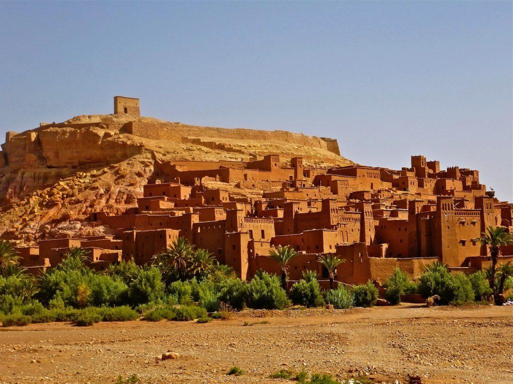 北アフリカの風景