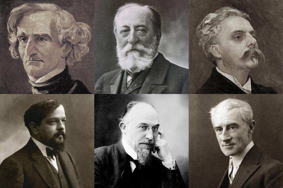 フランスの音楽家たちの写真