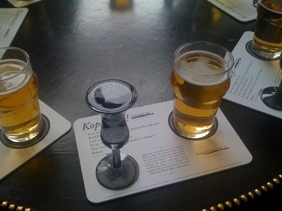 ジュネバとチェイサーのビール