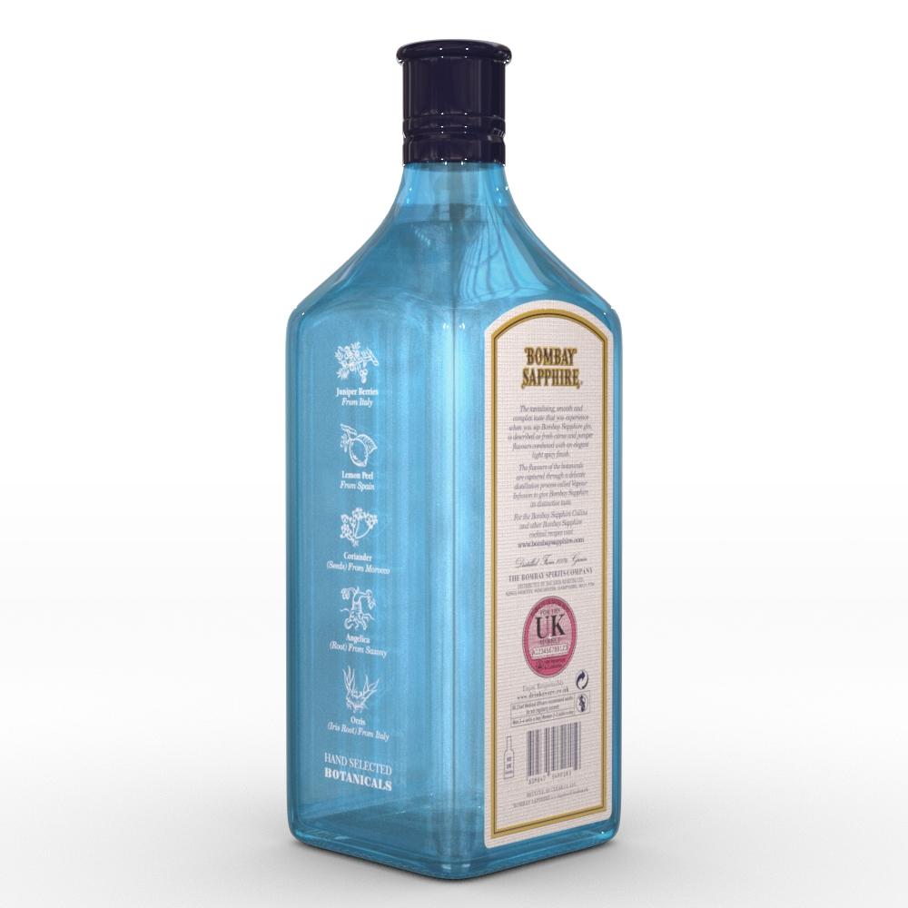 ボトルに描かれたボタニカル
