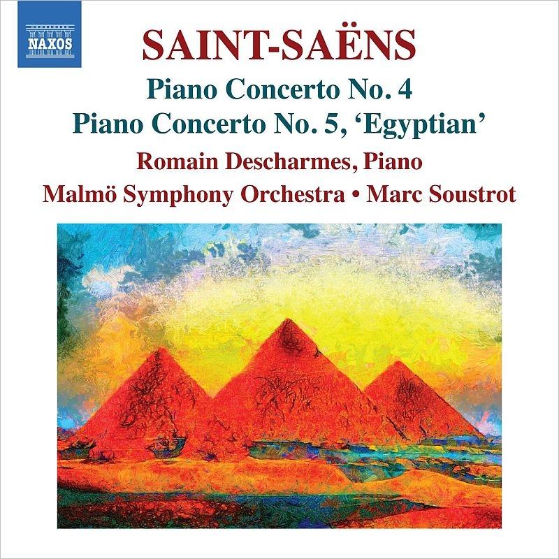 ピアノコンチェルトの「エジプト風」のCDジャケット