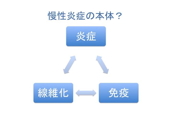 慢性炎症により生じる組織リモデリング