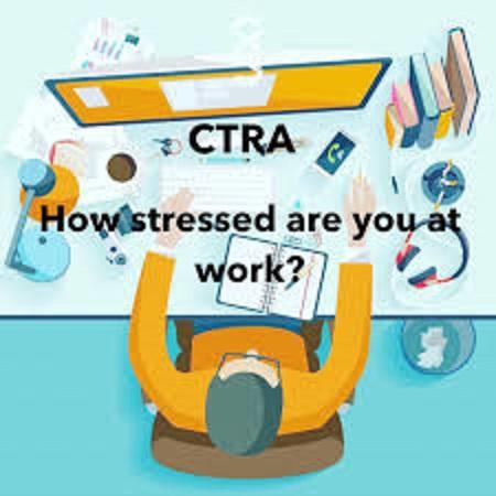 ストレスでCTRA遺伝子が活性化されることを示す図