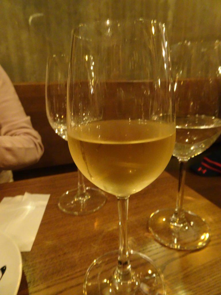 白ワインのグラス