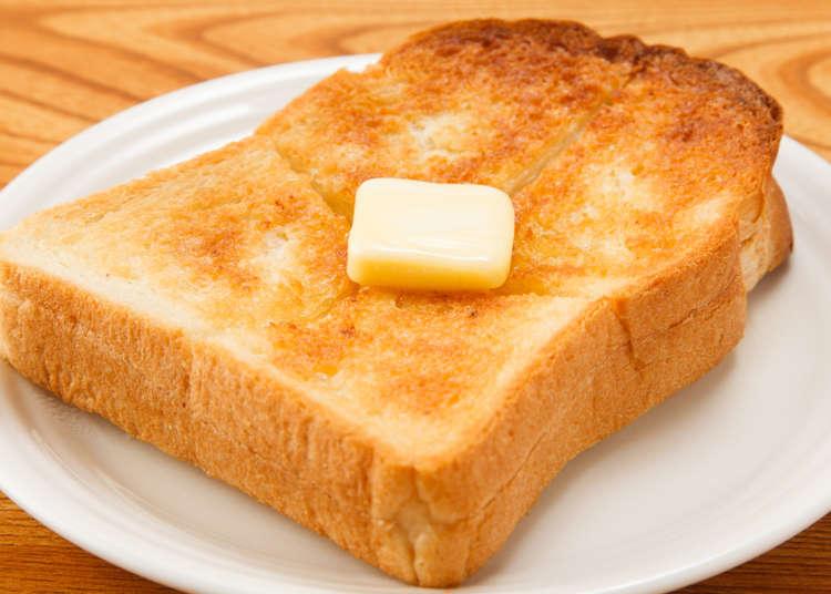小麦パンのトーストの写真