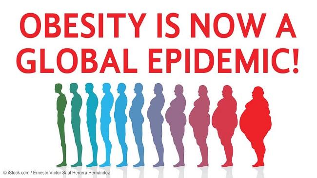 世界で肥満人口が急増していることを示す図