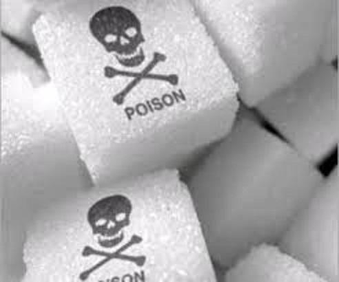 糖が悪いことを説明する図