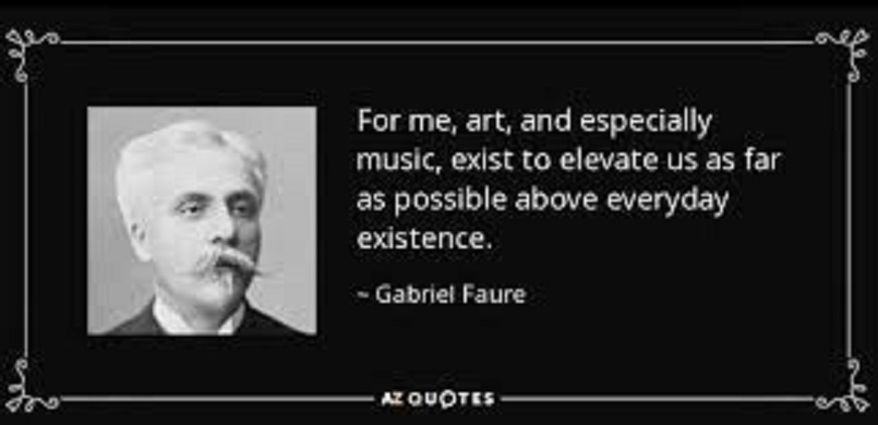 自らが求める音楽について語られたフォーレの言葉