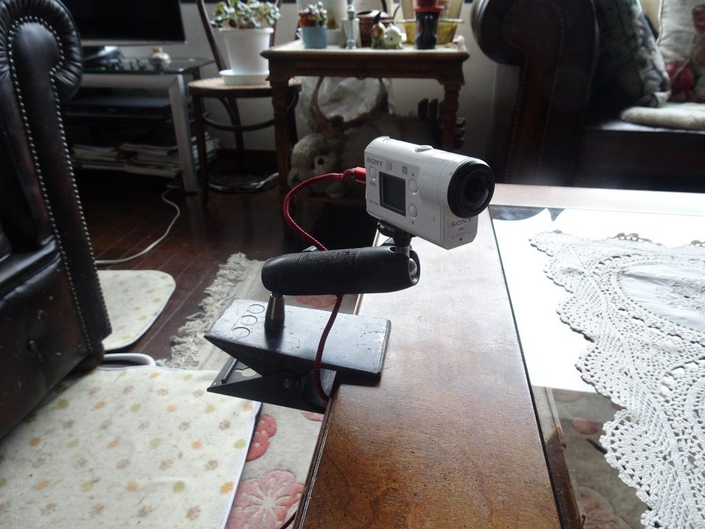 設置されたカメラ