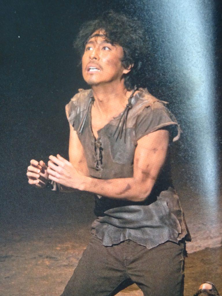ユダを演じる佐久間仁さん