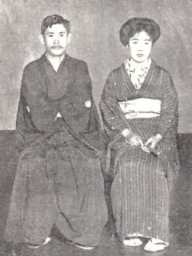 松井須磨子さんと島村抱月さんの写真