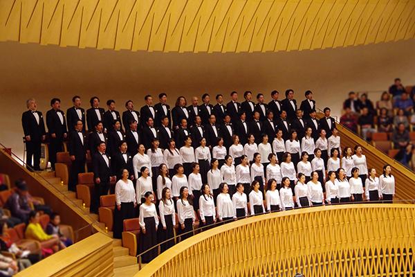 合唱団の写真