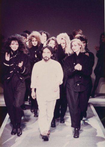 1981年 パリコレデビュー当時の耀司さん