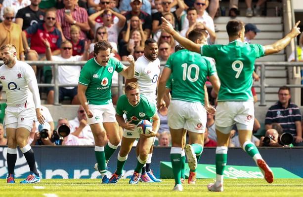 アイルランドの選手たち