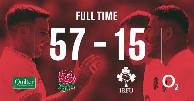 イングランドが完勝した試合結果