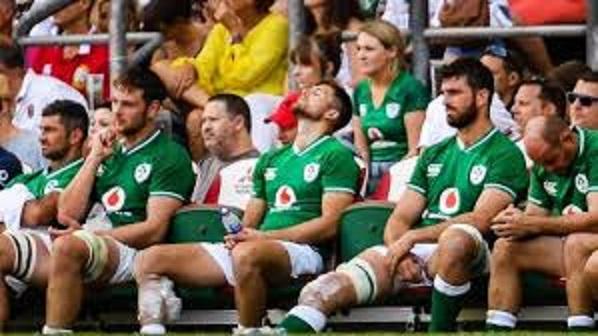意気消沈のアイルランド選手たち