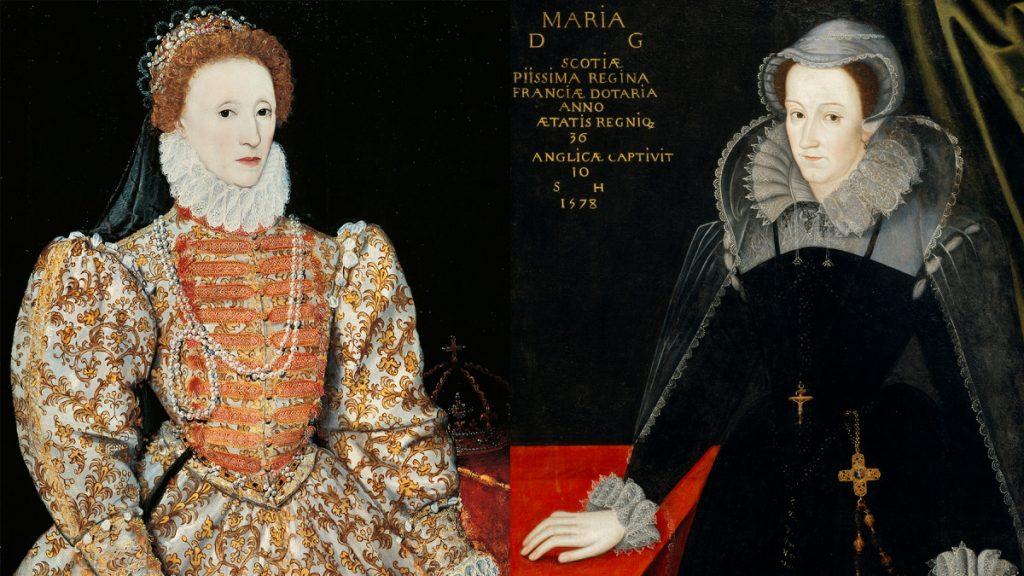 エリザベスとメアリー・スチュワートの肖像画