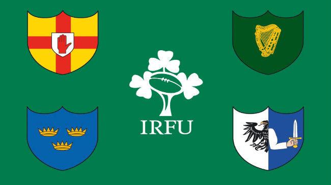 アイルランドラグビー協会(IRFU)の旗