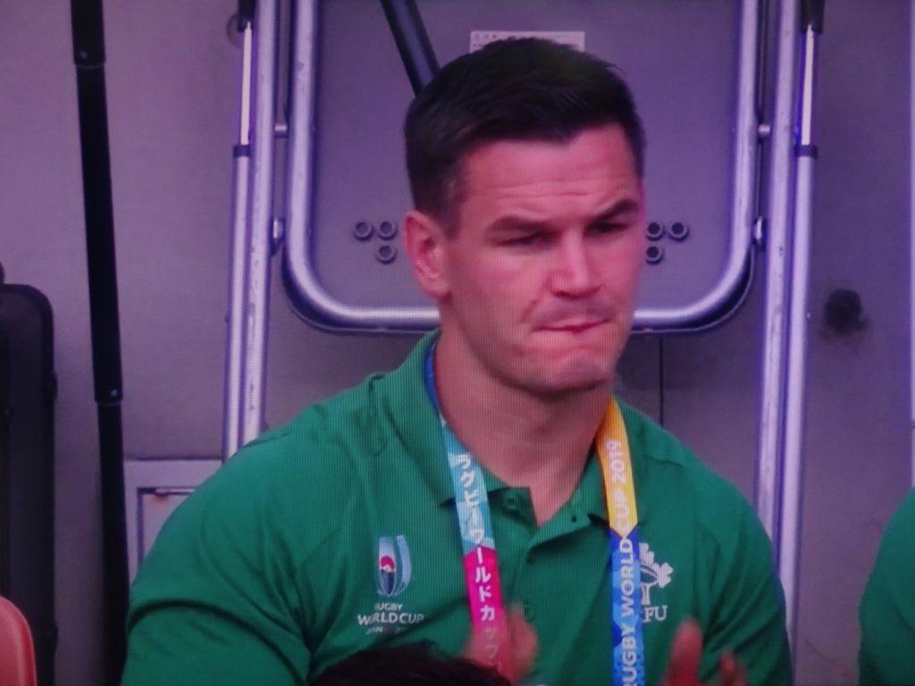 渋い顔のセクストン選手