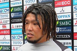ジャパンのフッカーの堀江選手