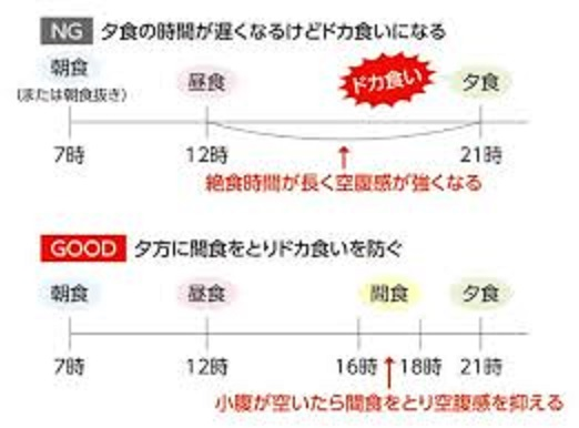 日本人のための科学的に正しい食事術2:間食と絶食