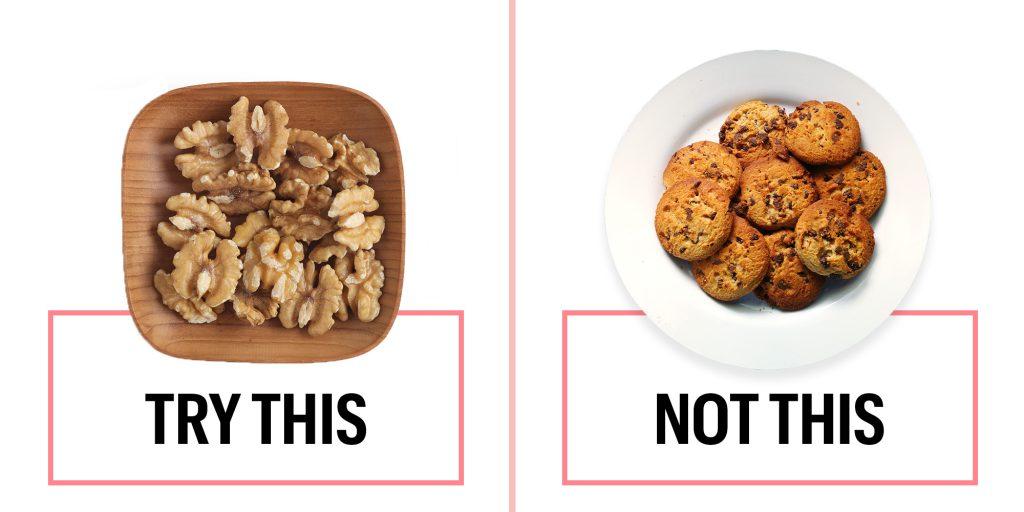 良い間食 悪い間食の例示